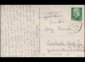 965-966 Leipziger Messe 1947 auf Messekarte SSt LEIPZIG C1 Messe-Privileg 7.9.47