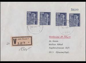 Luxemburg Postkarte 10. C. braungelb von ULFLINGEN 20.7.82 nach ANVERS 20.7.1882