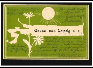 Ansichtskarte Annathal, Eisenach 19.2.1900 n. Neustadt/Herzogtum Coburg 20.2.00