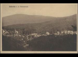 Ansichtskarte Schirke Panorama v. d. Helenenruh, Elend/Harz 1930