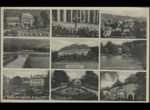 Ansichtskarte Bad Elster: 9 Ansichten, Bad Elster 30.8.1933