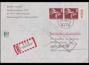 Ansichtskarte Trier: An der Porta Nigra, Trier 23.6.1905 n. Düsseldorf 24.5.1905