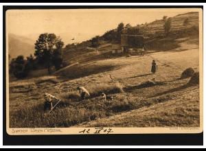 Ansichtskarte Riesengebirge: Die Reifträgerbaute, Oberschreiberhau 4.2.1931