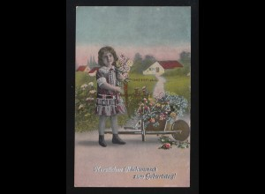 USA GA 2 Cent rot NEW YORK März 1914 per S.S. Kaiserin Auguste V. nach Hamburg