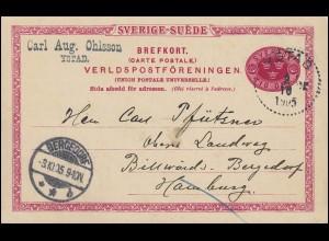 351y Luther 15 Pf. mit Oberrand EF auf Drucksache COCHEM 23.4.65 nach Ulmen