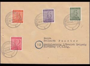 Luftpost LE HAVRE - NEW YORK 14.9.1936 Brief mit 297 Dampfer Normandie