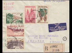 Indien Postkarte / Postcard 5 N.P. Löwen / Lions grün, nach BEAWAR 15.4.58