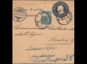 Postkarte P 84 Heinemann 40 Pf mit Schmuck-Zudruck Concorde SSt HANNOVER 22.4.72