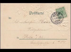Ansichtskarte Luftflotten-Verein: In der Zeppelin-Gondel Feld-PK MAINZ 3.4.15
