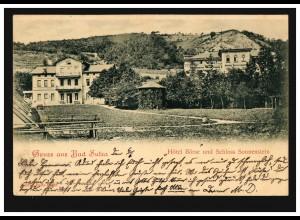 Frankreich Vorphilatelie Faltbrief Laval 17.8.41 nach Aigre 28.8.1841