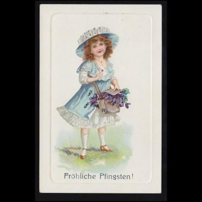 125II Posthorn 4er-Streifen mit PLF II auf Gerichts-Briefstück SIEGBURG 28.5.54