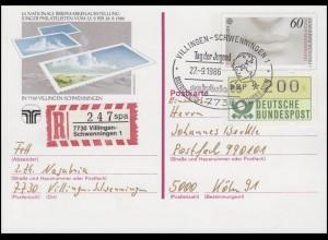 PSo 13 NAJUBRIA'86, R-PK SSt Villingen-Schwenningen Tag der Jugend 27.9.1986