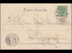 Aushilfs-R-Zettel 6086 Pappenheim, MiF auf R-Brief 6086 Kleinschmalkalden 1.4.92