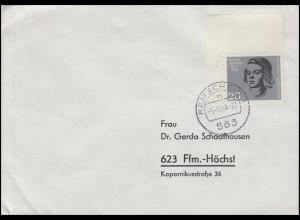 431 Attentat 20. Juli 1944 Sophie Scholl EF Bf. REMSCHEID 5.8.64 nach Frankfurt