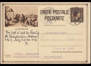 103-105 Hannover Messe, Satz auf FDC-Messekarte ESSt HANNOVER 22.4.1949