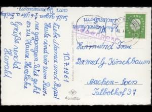 431-438 Attentat 20. Juli 1944 als 8er-ZD aus Block 3 R-FDC ESSt Bonn 1964