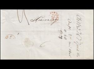 Niederlande Vorphilatelie Brief AMSTERDAM 27.5.45 nach s-Gravenhage 27.5.