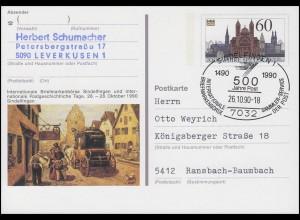 PSo 23 Sindelfingen, SSt Sindelfingen 50 Jahre Post 26.10.1990