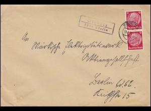 Katapultpost Katapultflug S.S. BREMEN AMSTERDAM-BREMERHAVEN 15.6.30 - Hab. 15c