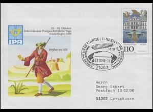 USo 4 IPA Sindelfingen, SSt Sindelfingen Graf Zeppelin & Globus 23.10.98
