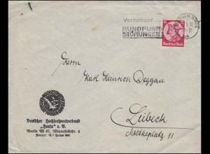 480 Friedrich der Große EF Bf Deutscher Hochseesportverband Hansa BERLIN 23.6.33