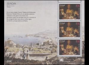 Portugal Madeira: Europa / CEPT Berühmte Frauen Guiomar Vilhena 1996, Block **