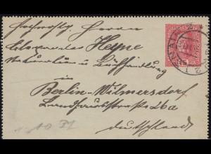 410 Heuss 3 Fr Paar MeF auf Buchbestellkarte Bertelsmann SSt WADERN 15.10.1958