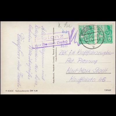 USA Kartenbrief 2 Cents grün mit 52 Eilmarke auf Orts-Brief SAINT PAUL / MN 1887