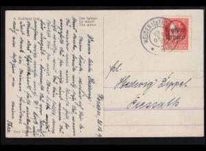 Ansichtskarte Gruss aus Sassenberg mt 6 Bildern, 7.5.1905 nach BREYELL 8.5.05