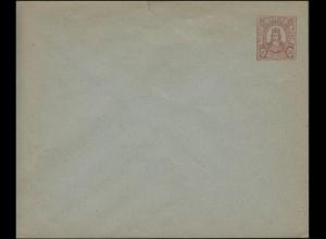 Privatpost Köln / Cöln: Umschlag 2 Pf Colonia im Perlenkreis orange, ungebraucht