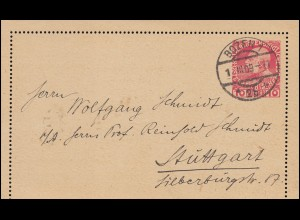 KLM-Erstflug und 1. Retourflug NL-NL/Westindien 15.12.34 / 22.12.34 Schmuckbrief