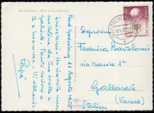1266 Bundeswehr Postkarte SSt Münchberg Gesamtdeutsche Streitkräfte 26.10.1996