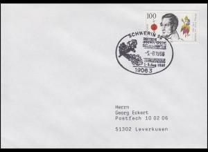 1842 Siebold, EF Bf SSt Schwerin Tagung Dendrologische Gesellschaft 5.8.1996