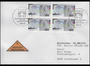 1690 Funkausstellung IFA Berlin, MeF NN-FDC ESSt Berlin Messesymbol 12.8.1993
