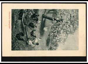 Privat-Postkarte Tag der Briefmarke & BDPh, SSt Sindelfingen Briefbote 27.10.96