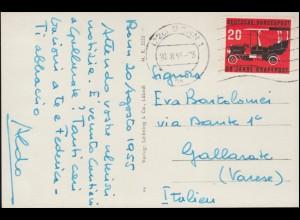 Frei durch Ablösung 21 Preußische Museen BERLIN 5.12.19 auf Orts-Brief