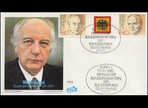 355+357 Reichsadler 3+10 Pf MiF auf Nachnahmekarte BERLIN 22.4.26