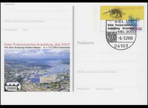 PSo 67 Ausstellung KIEL 2000 & EXPO, SSt Kiel Ausstellung Ostseehalle 6.5.2000