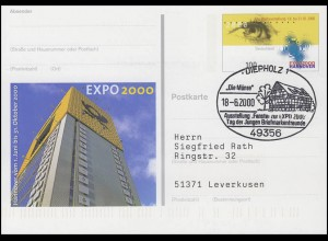 PSo 69 EXPO Hannover, SSt Diepholz Fester zur EXPO & Die Münte 18.6.2000
