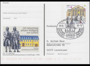 PSo 62 Börse Sindelfingen & Goethe, SSt Sindelfingen Goethe & Schiller 29.10.99
