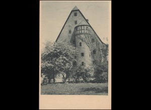 Ansichtskarte Marburg Deutschhaus, Werbestempel TELL-FESTSPIELE MARBURG 12.7.29