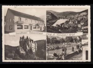 Ansichtskarte Gruss aus Sassenberg mit 4 Bildern, WARENDORF 30.5.1906
