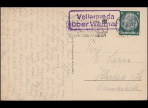 54 Germania Reichspost EF Postkarte A.E. Glasewald GÖSSNITZ 5.9.1901 in die NL