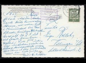 Vorphilatelie Schweiz Brief Zweizeiler ST. GALLEN 30.10.1824 mit Transitstempel