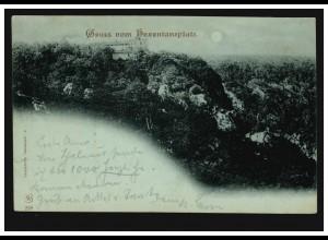 40 Ziffer 5 Pf, Postkarte Cassel/Kassel 3.6.88 nach Nürnberg 5.6