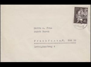 198 Gutenberg-Bibel, EF Orts-Drucksache Frankfurt/Main 1.6.54