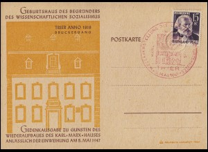 Gebühr-bezahlt-Stempel Einzeiler auf Brief PFETTRACH 20.3.46 nach Leipzig