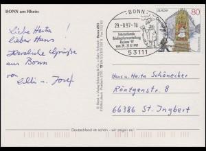 1915 Europa: Sagen und Legenden, EF AK Bonn SSt Bonn Fischer & Fisch 29.8.1997