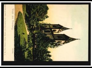 Feldpost Bayerisches Nationalmuseum München 16.9.18 an die Kommandantur in Lille