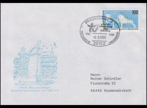 1783 Uni Carolo-Wilhelmina Braunschweig EF FDC Braunschweig Festakt 9.3.1995